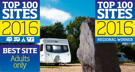 Practical Caravan Best Adult Only Caravan Park & Somerset Regional Winner 8 years running.