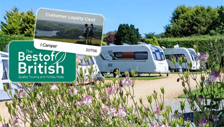 Best of British Touring Parks, Loyalty Card