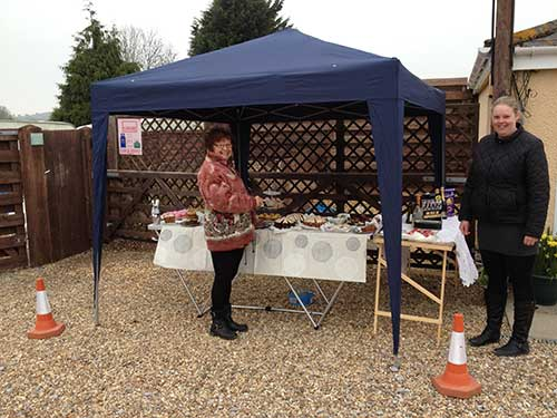 Charity Cake Sale, Easter 2014