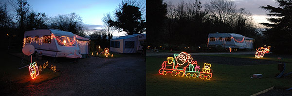 Christmas & New Year caravanning holidays at Bath Chew Valley, Somerset