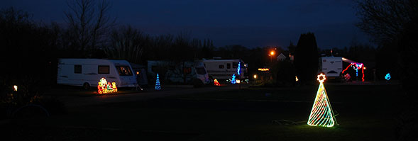 Christmas & New Year at Bath Chew Valley Caravan Park